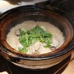 80461917 - 牡蠣の土鍋ご飯