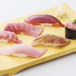 寿司割烹 豊魚 - 鮪味くらべ