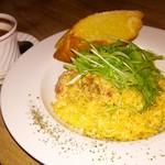 パティスリー カフェ ひかり - 厚切りベーコンのカルボナーラ