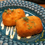 レ・ピコロ - ポルチーニ茸のクリームコロッケ