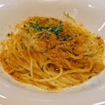 レ・ピコロ - 白子とたっぷりカラスミのスパゲッティー