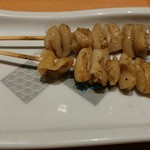 魚民 - 鶏皮串