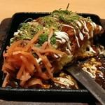 魚民 - ふわとろ山芋の海鮮モダン焼