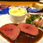 80463667 - 蝦夷鹿のロース肉のロースト 3600円