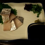 日本酒バル いぶき - タチウオの造り
