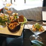 百名伽藍 - 先附と前菜