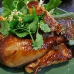アジアンキッチン サワディー - ガイヤーン、骨付きの焼き鳥です。