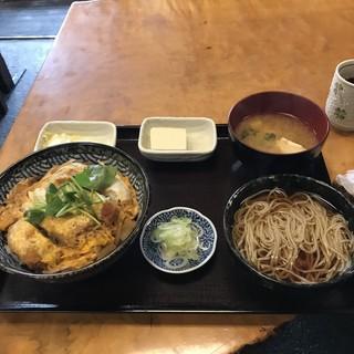 角清 - かつ丼。 税込1000円。 美味し。