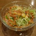 炭火焼きタンドールグリル&バー SPICE HARVEST - サラダ(18-02)