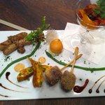 ビストロ肉匠 - 前菜5種盛り合わせ
