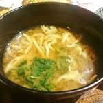 土鍋炊ごはん なかよし - 味噌汁