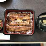 宮川 - うな重 夏 ¥2.160+肝吸い変更¥100