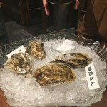 新宿 牡蠣スター - 生牡蠣