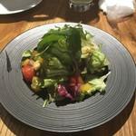 新宿 牡蠣スター - サラダ