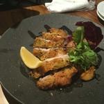 新宿 牡蠣スター - 鳥のハーブ焼き