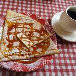 アメリ - 料理写真:クレープランチ(塩バターキャラメル&コーヒー)@950