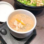 ゆず庵 - カニ茶碗蒸し