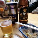 香蘭亭 - 「ビール 大」750円