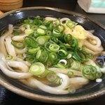 こがね製麺所 - 料理写真:・かけうどん<小>