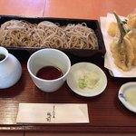 桃前 - 料理写真:海鮮天せいろ 1,400円