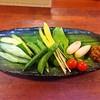 鯉乃群 - 料理写真:旬野菜刺盛