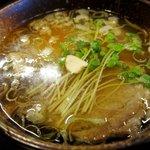 鶴麺 - 塩つけそば