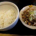 鶴麺 - 三元豚あえめし