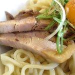 鶴麺 - 三元豚あえそば チャーシュー