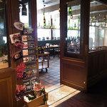 トラットリア・アリオリ - お店の入り口