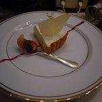 サロン・ド・テ・ミュゼ イマダミナコ 新宿タカシマヤ店 - ディアーヌのチーズケーキ 840円