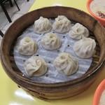 世界豆漿大王 - 料理写真:小籠包