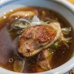 日本蕎麦&鉄板ダイニング 三ヶ森 - プリッとした鴨肉。