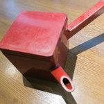 日本蕎麦&鉄板ダイニング 三ヶ森 - 蕎麦湯でゆったり。
