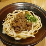 神戸ビーフ食品直営店 鉄板焼 銀座888 - 肉牛蒡うどん