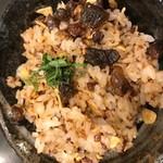 神戸ビーフ食品直営店 鉄板焼 銀座888 - ガーリックライス