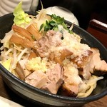 麺座ぎん - 油そば(大盛)
