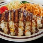 ドライブイン喜多 - 料理写真:トルコライスアップその1