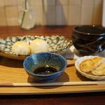 TAKAMIOKAKI - 今回は、焼き餅と甘酒をいただきました(2018.2.5)