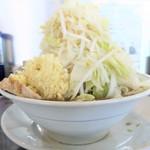 らーめん大 - らーめん+野菜多めニンニク特に多め