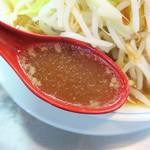 らーめん大 - スープ
