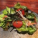 炉端 ぎんりん - しらすと桜海老の和風サラダ