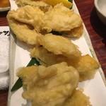 炉端 ぎんりん - 季節の天ぷら2種盛合せ