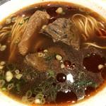 鼎泰豊 - 牛肉麺。見た目よりあっさり