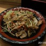 獅子丸 - 野菜炒め 650円