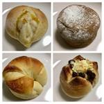 デリマシェリ - 天然酵母パン4種購入