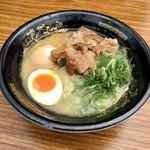 麺座 かたぶつ - 濃厚煮干し鶏白湯(名古屋ラーメンまつり2018)
