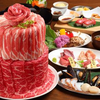 【サプライズ肉ケーキ】は喜ばれること間違いなし!