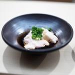 日本橋蛎殻町 すぎた - かわはぎ 肝醤油