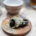 日本橋蛎殻町 すぎた - 牡蠣の味噌漬け