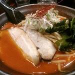 北海道らぁ麺 ひむろ - 鉄火麺。